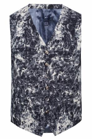 Embroidered vest od John Varvatos