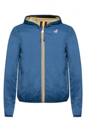 'jacques plus double' reversible jacket od K-WAY
