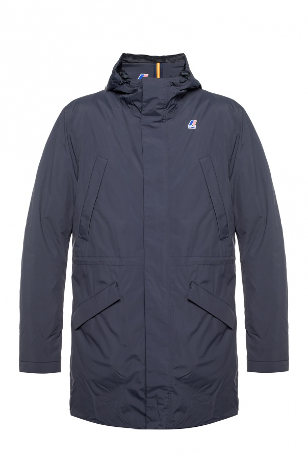 'remi' hooded jacket od K-WAY