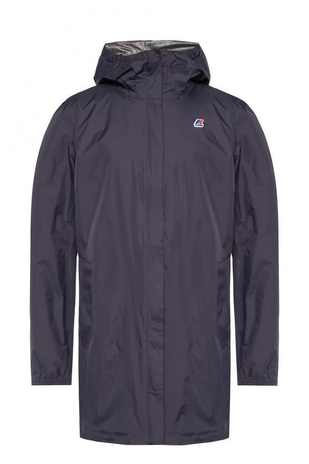 K-WAY Jacket with logo applique