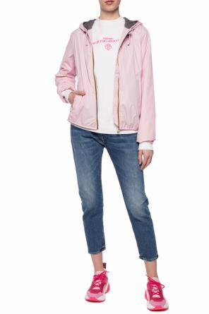 'lily poly jersey' jacket od K-WAY