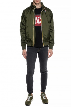 'amaury' bomber jacket od K-WAY