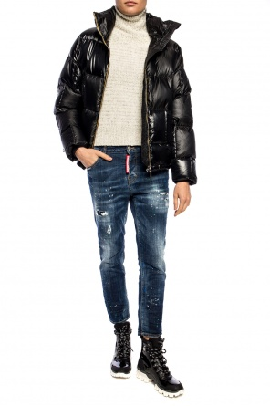 Quilted down jacket od K-WAY
