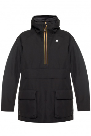 'jeffry' hooded jacket od K-WAY