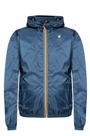 'jukes light ripstop' jacket od K-WAY