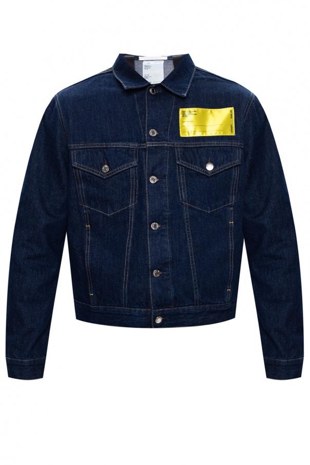Helmut Lang Denim jacket with logo