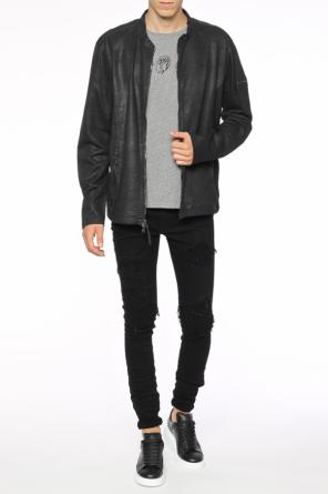 Waxed jacket od John Varvatos