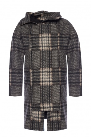 'keira' hooded coat od AllSaints