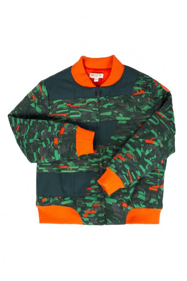 212c64885b16 Patterned bomber jacket Kenzo Kids - Vitkac shop online