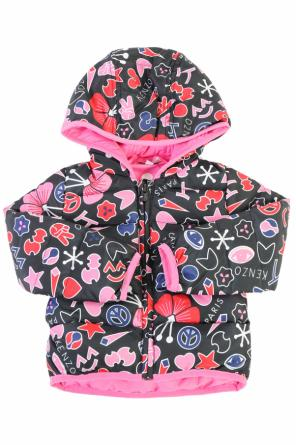 Quilted down jacket od Kenzo Kids