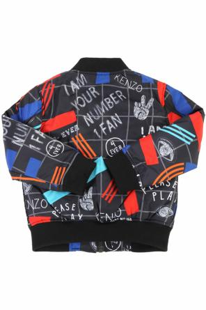 Patterned bomber jacket od Kenzo Kids