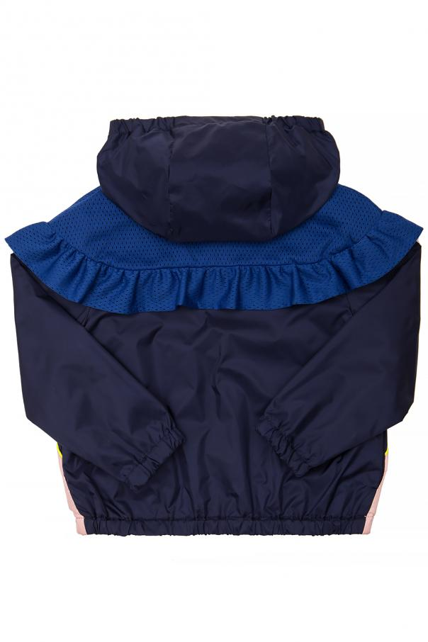 Rain jacket with a print od Kenzo Kids