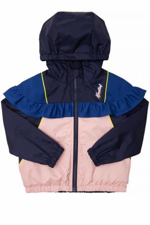 f66bd803a ... Rain jacket with a print od Kenzo Kids