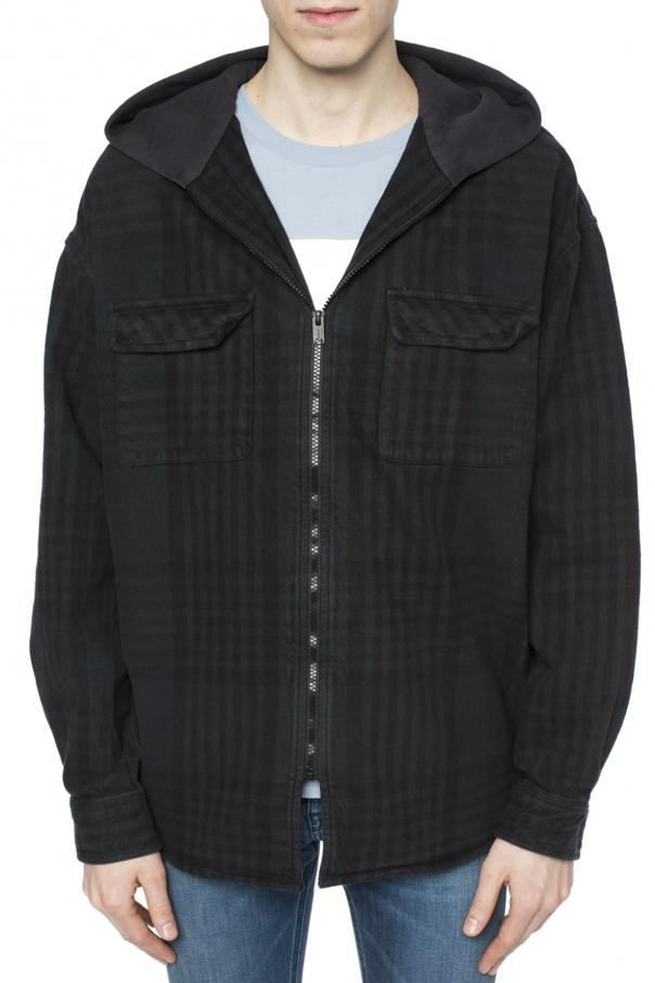 Oversize checked jacket od Yeezy