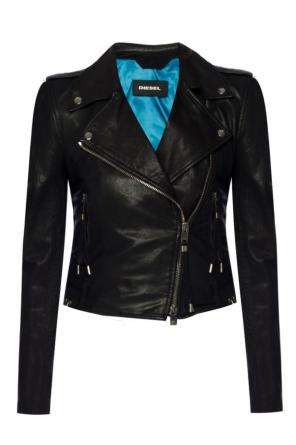 Lace-up biker jacket od Diesel