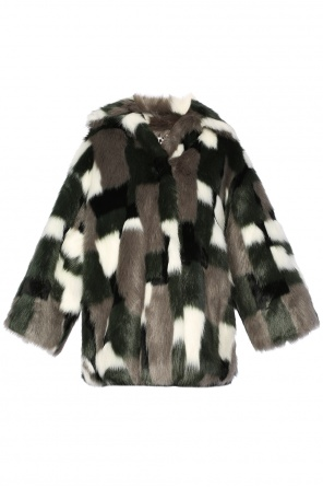 Cropped fur coat od Diesel