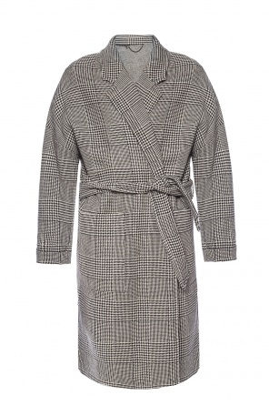 'lara' checked coat od AllSaints