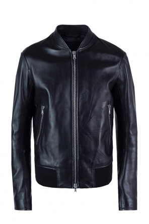 Band collar jacket od Diesel Black Gold