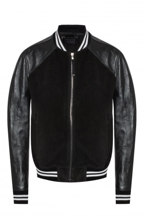 Ribbed hem jacket od Diesel Black Gold