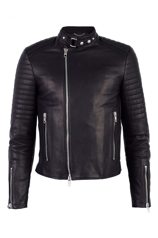 Diesel Black Gold for VITKAC Leather jacket designed for Vitkac