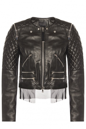 Leather jacket od Diesel Black Gold