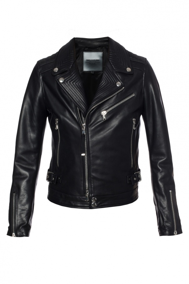 Diesel Black Gold for VITKAC Biker jacket designed for Vitkac