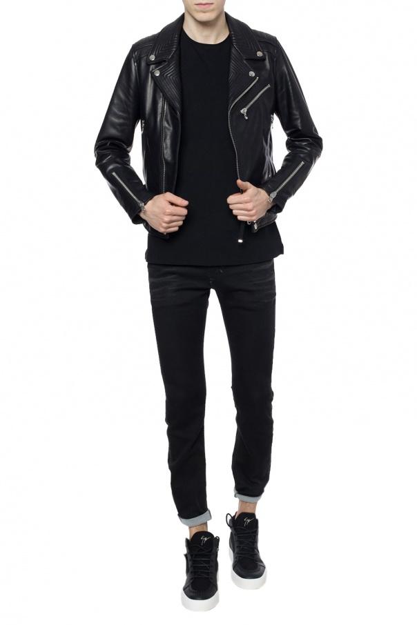 Biker jacket designed for vitkac od Diesel Black Gold for VITKAC