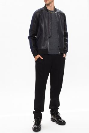 Leather bomber jacket od PS Paul Smith