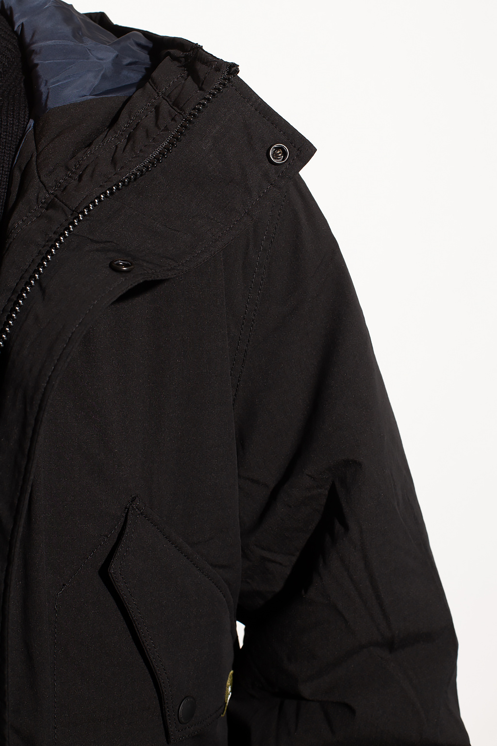 PS Paul Smith Logo-patched parka