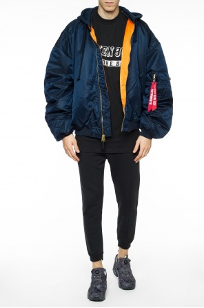 Reversible oversize bomber jacket od Vetements