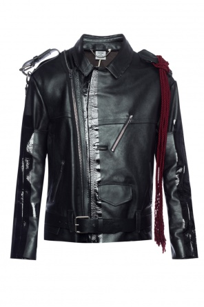 Biker jacket with chain od Vetements