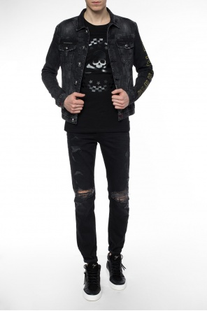 'ironic' denim jacket od Philipp Plein