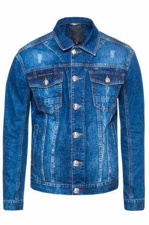 'sign' denim jacket od Philipp Plein