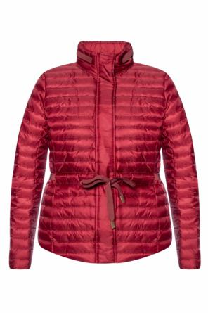 Branded quilted down jacket od Michael Kors