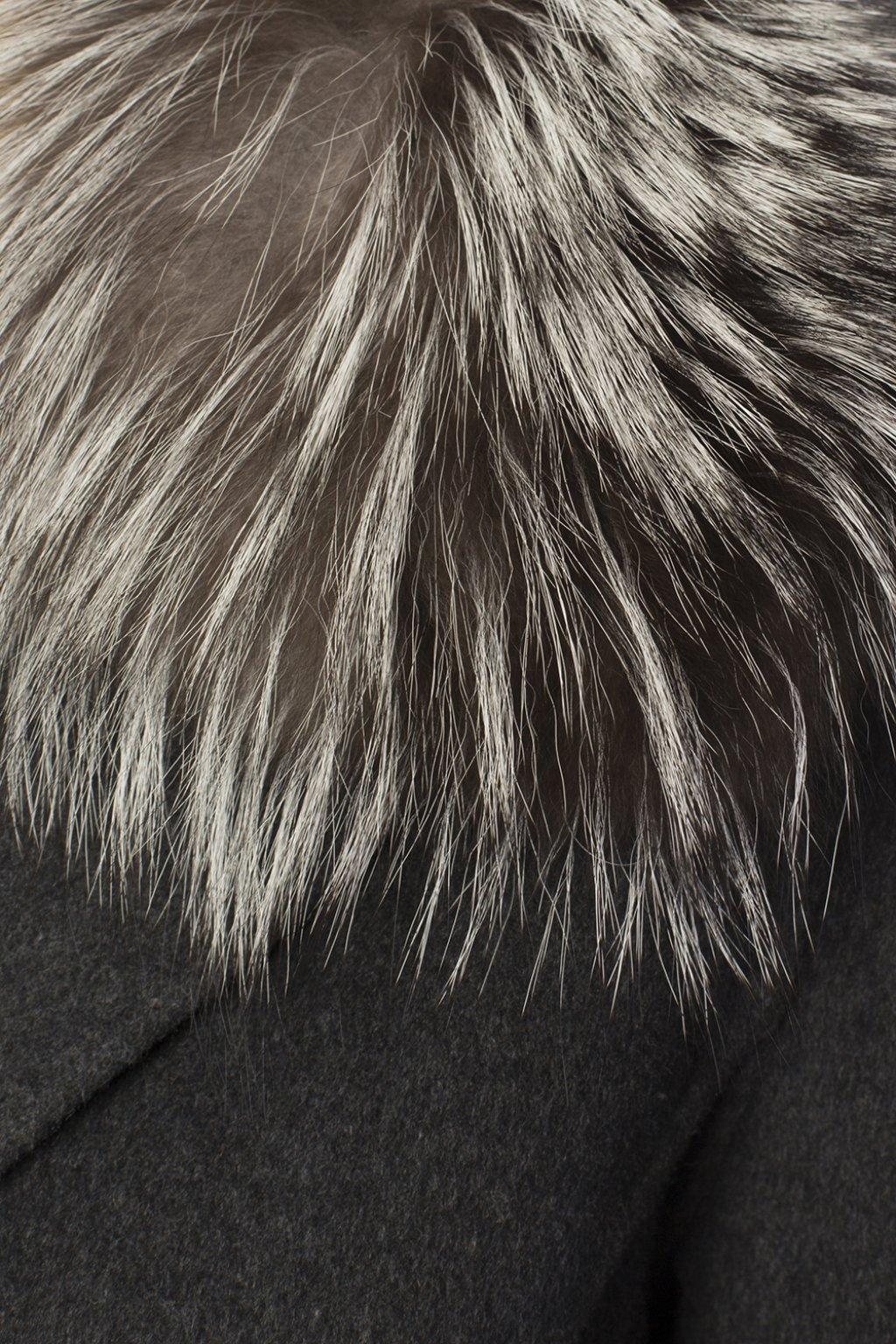 Michael Michael Kors Fur collar coat