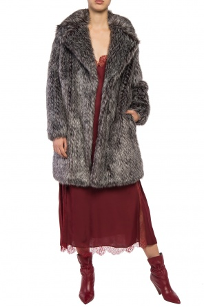 Fur coat with pockets od Michael Kors