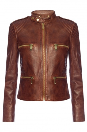 Leather jacket od Michael Kors