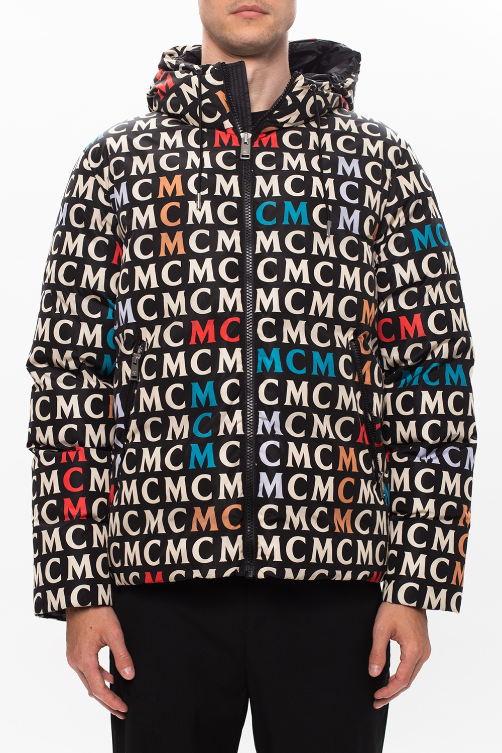 MCM Down jacket with logo