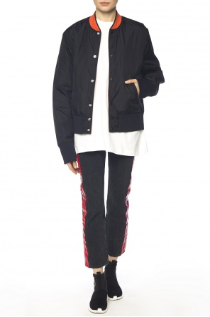 Reversible bomber jacket od Acne