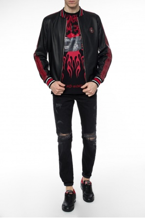 Reginald' bomber jacket od Philipp Plein