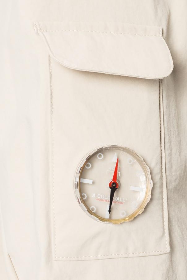 A Cold Wall Kurtka przeciwdeszczowa z logo DFhmb9Oy