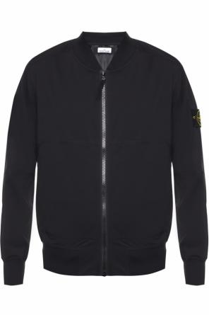 Band collar jacket od Stone Island