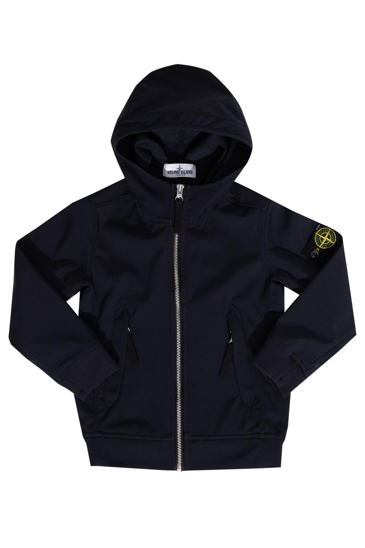 Stone Island Kids Hooded jacket