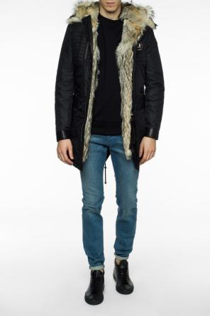 Parka with quilted lining od Philipp Plein