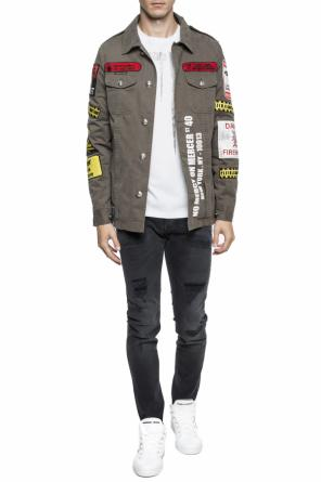 Jacket with applications od Philipp Plein