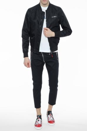 Patched bomber jacket od Plein Sport