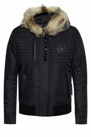Jacket with quilted inserts od Philipp Plein
