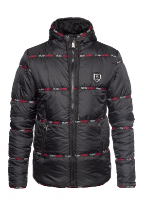 Quilted down jacket od Plein Sport