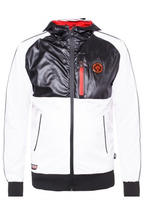 Logo-patched jacket od Plein Sport
