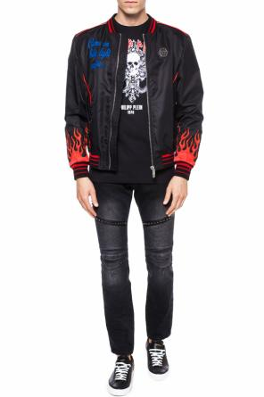 Embroidered bomber jacket od Philipp Plein